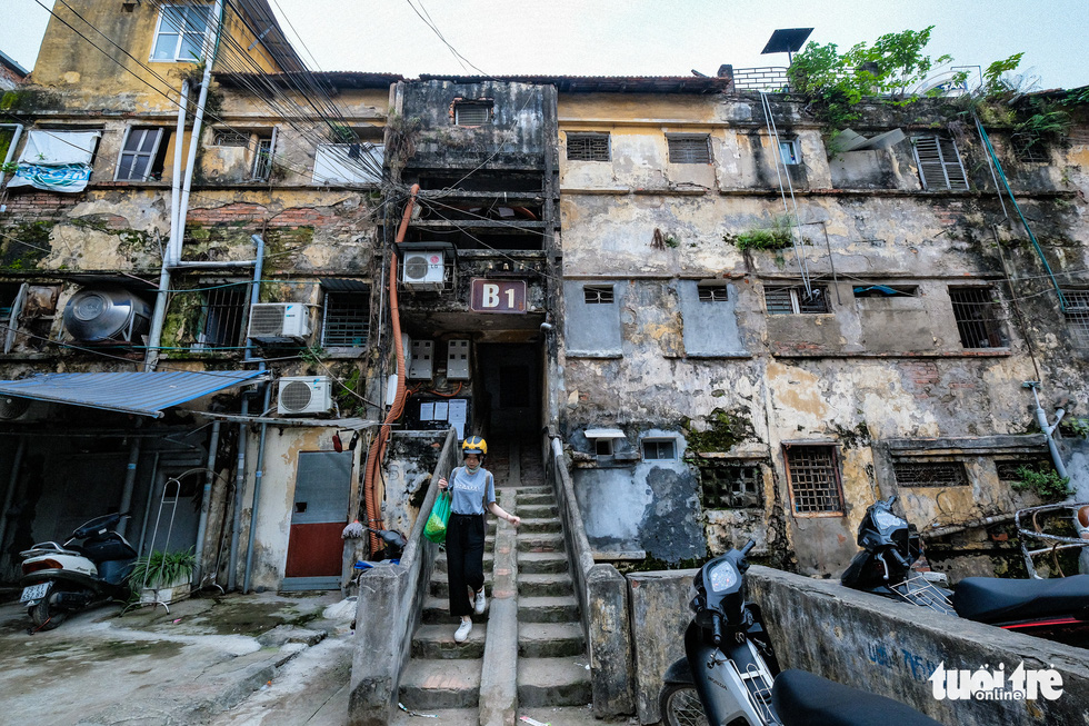 It's only a matter of time before disaster strikes Hanoi's dilapidated tenements