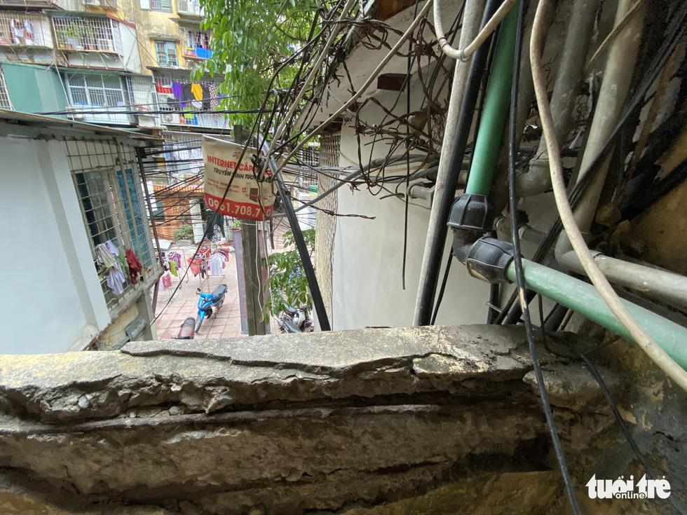 A building in Thanh Cong Condominium Area, Dong Da District. – Photo: Quang The / Tuoi Tre