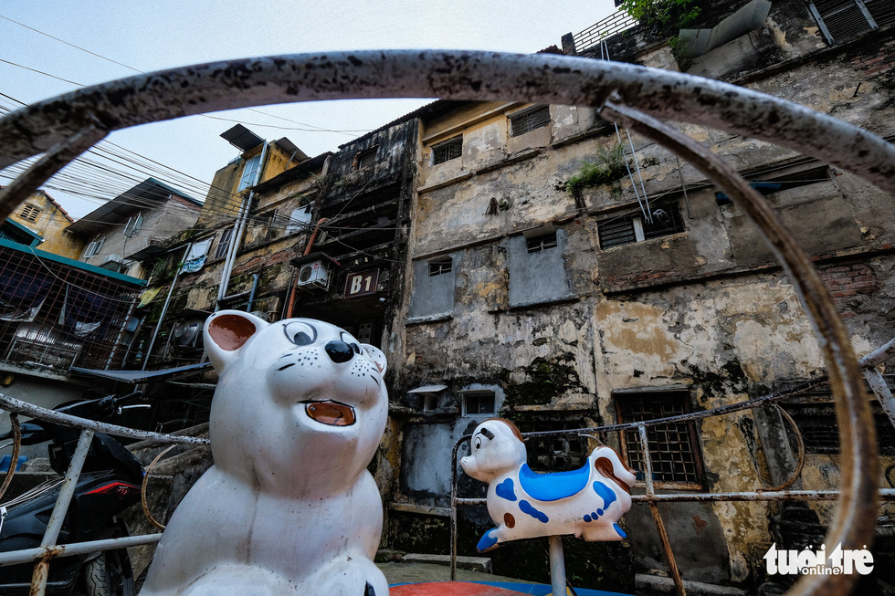 An apartment in the Van Chuong condominium area, Dong Da District. Photo: Nam Tran / Tuoi Tre