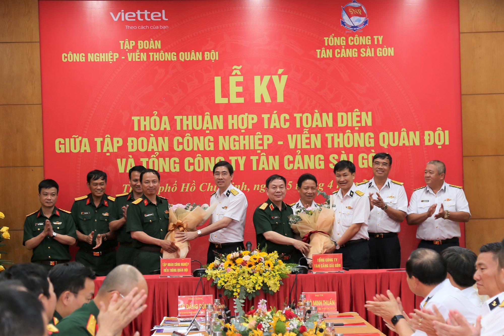 Military-run Viettel, Saigon Newport Corporation inks deal on multiple spheres, including e-commerce development