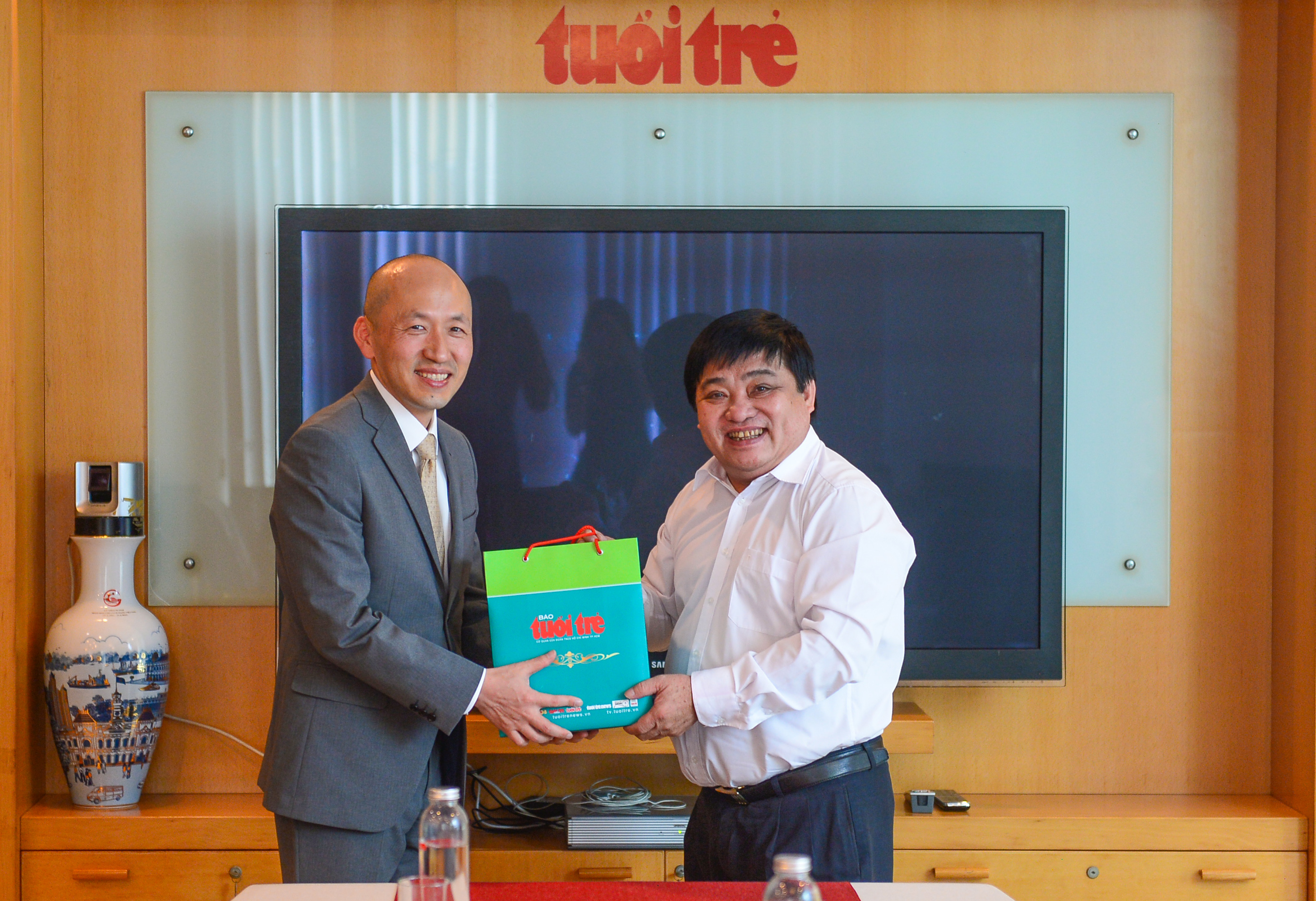 South Korean Consul General visits Tuoi Tre