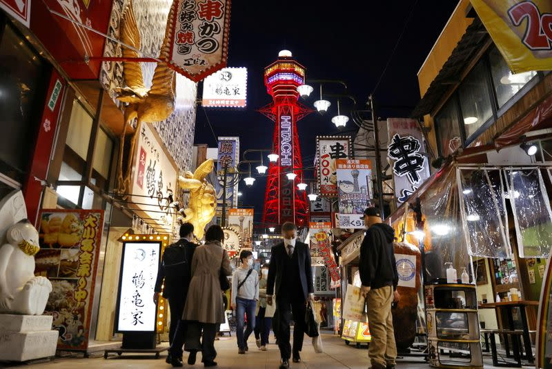 Japan's hard-hit regions may slide back to COVID-19 state of emergency