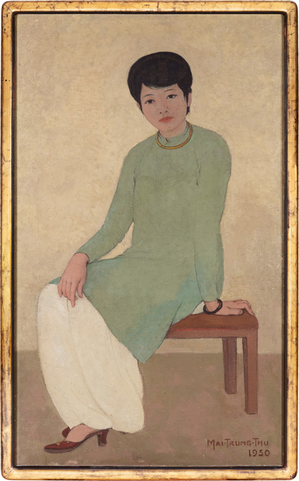 Vietnamese painting sold for record price of $3.1mn at Hong Kong auction