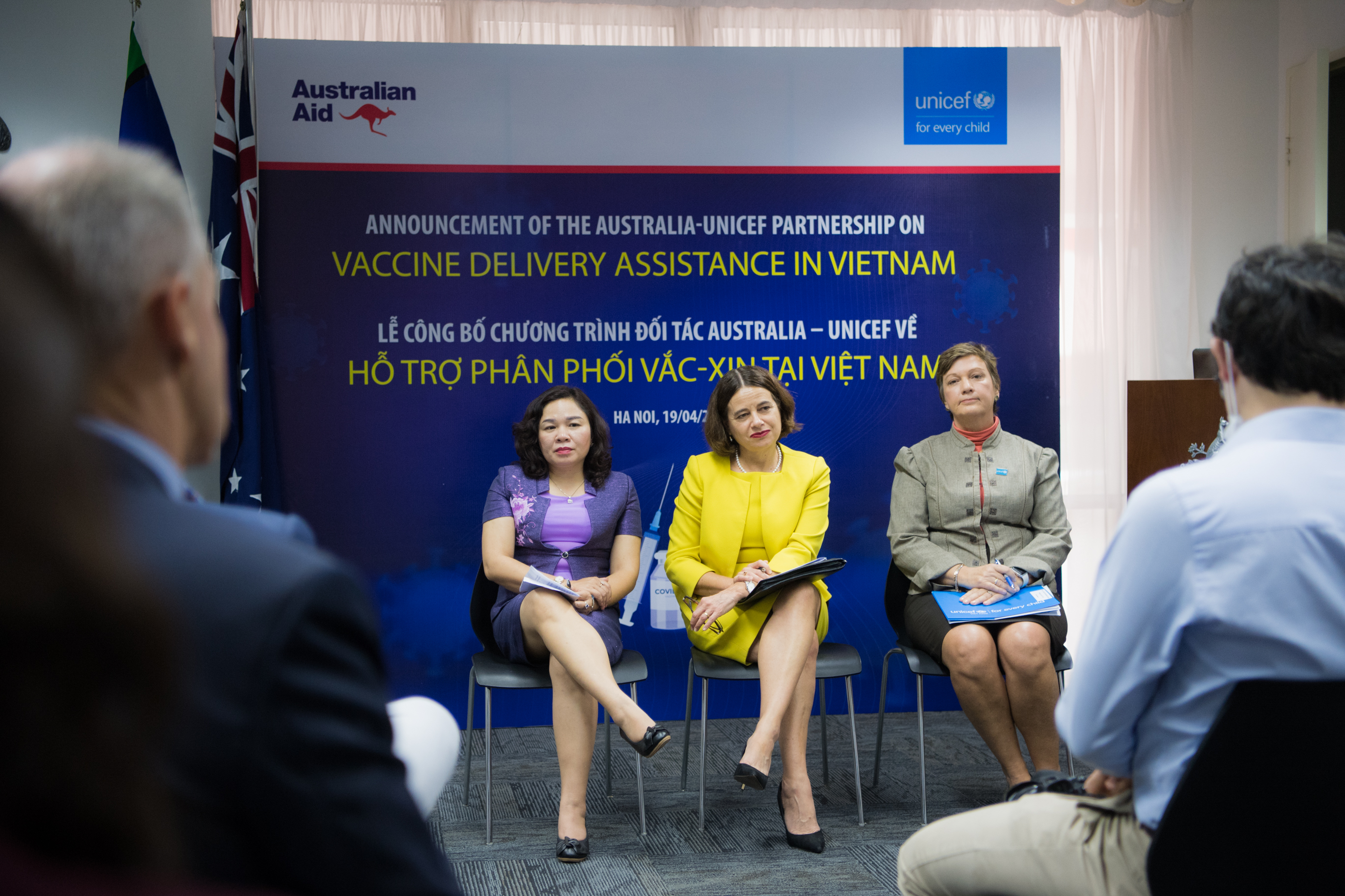 Australia, UNICEF announce $10.5mn package to support COVID-19 vaccine delivery in Vietnam