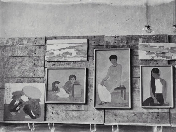 The exhibition of paintings at the Indochina Fine Arts College in 1930 - Photo: SOTHEBY'S