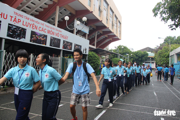 Youths with disabilities contend in sports competition in Ho Chi Minh City