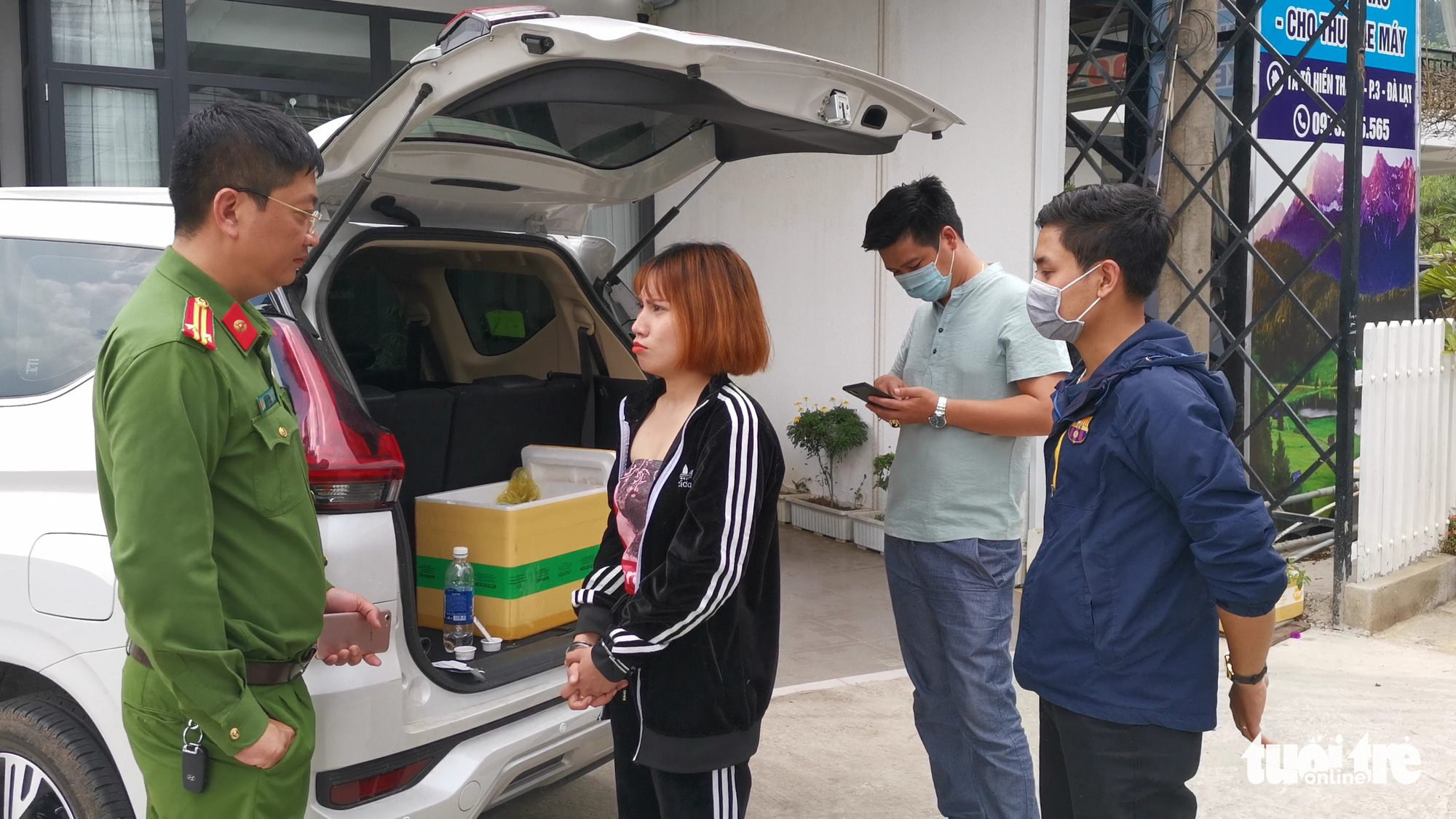 Woman nabbed for selling milk tea laced with cannabis in Vietnam's Da Lat