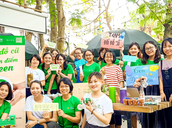 Taking small steps toward greener life in Vietnam