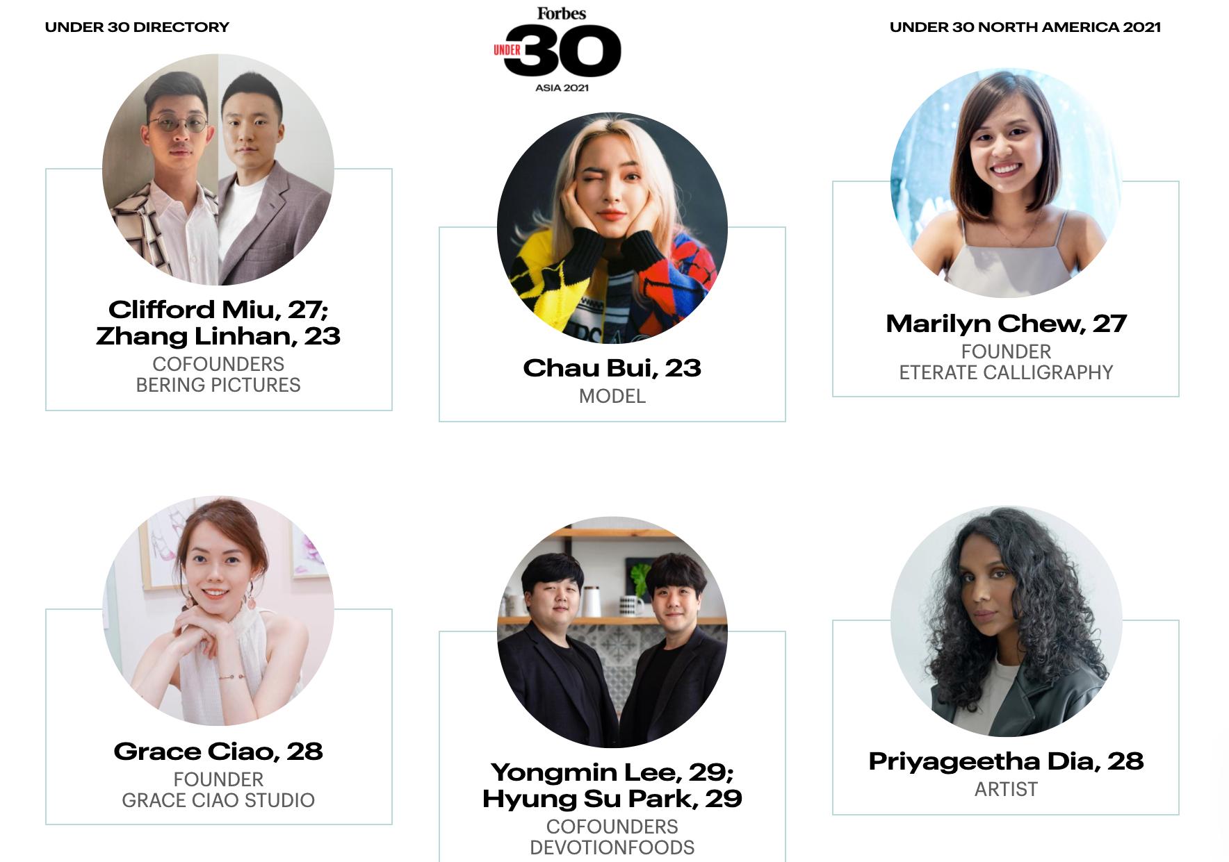 Three Vietnamese women enter Forbes 30 Under 30 Asia list