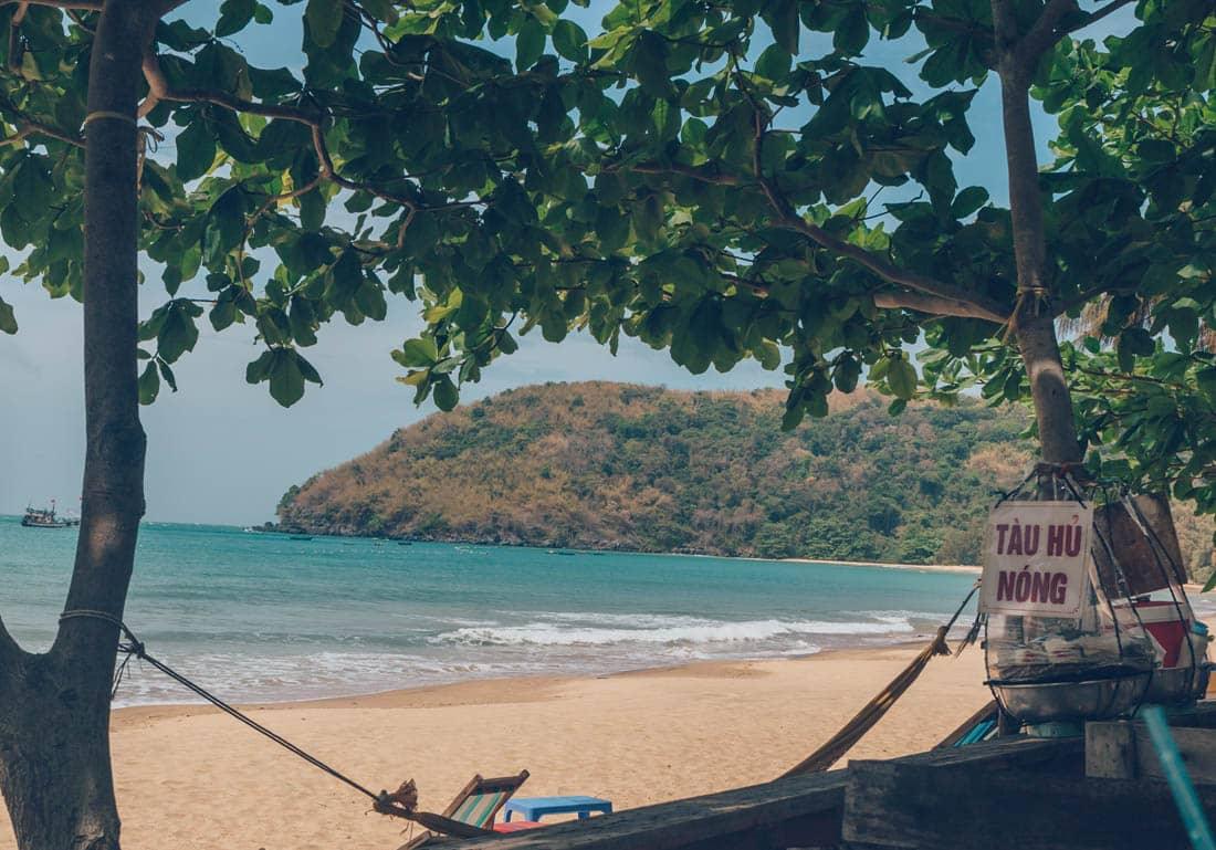 Dam Trau Beach in Con Dao Island is seen in a photo taken by Samantha, a travel blogger at There She Goes Again.