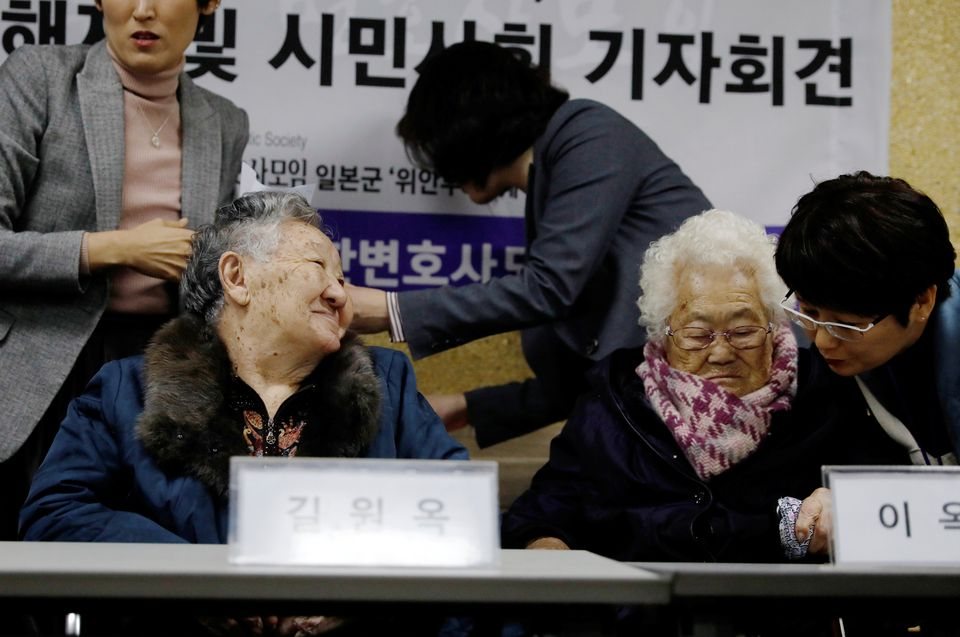 S.Korea court dismisses 'comfort women' lawsuit, contradicts earlier ruling