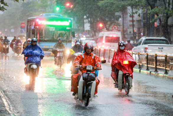 Heavy rains, with rainfall of up to 120mm, to hit northern Vietnam