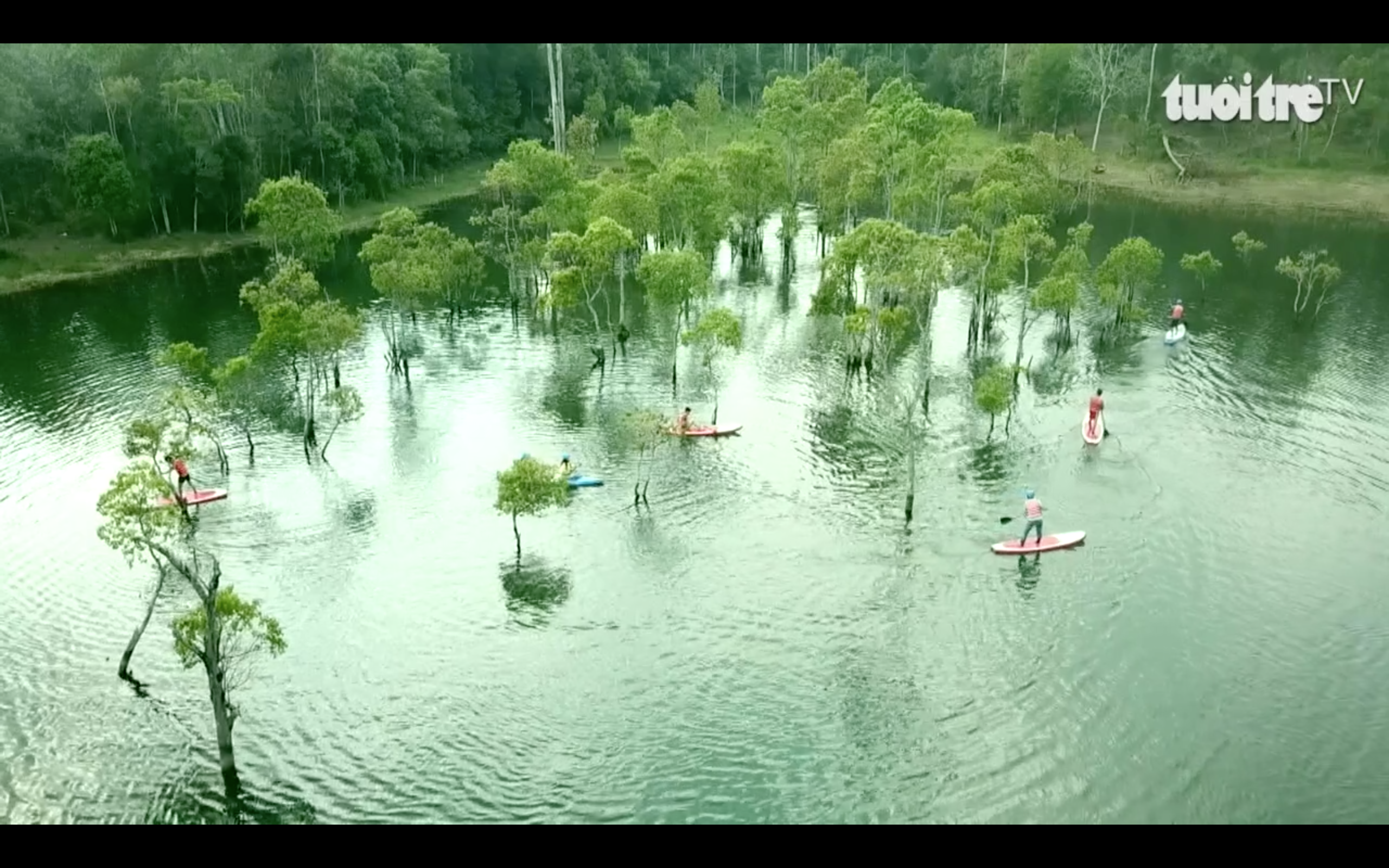 Kayaking in Vietnam's Da Lat