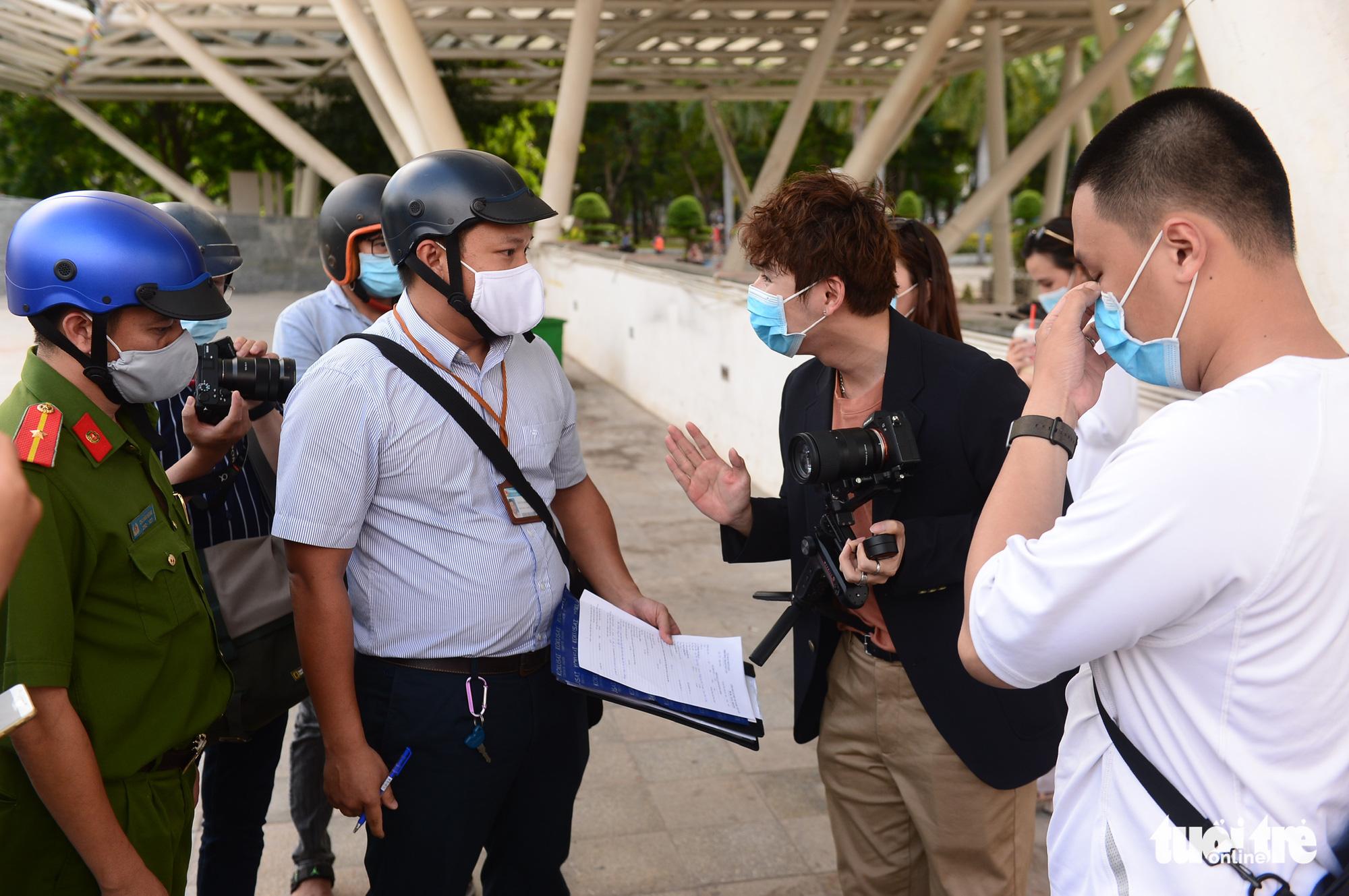 Ho Chi Minh City stays tough on maskless people