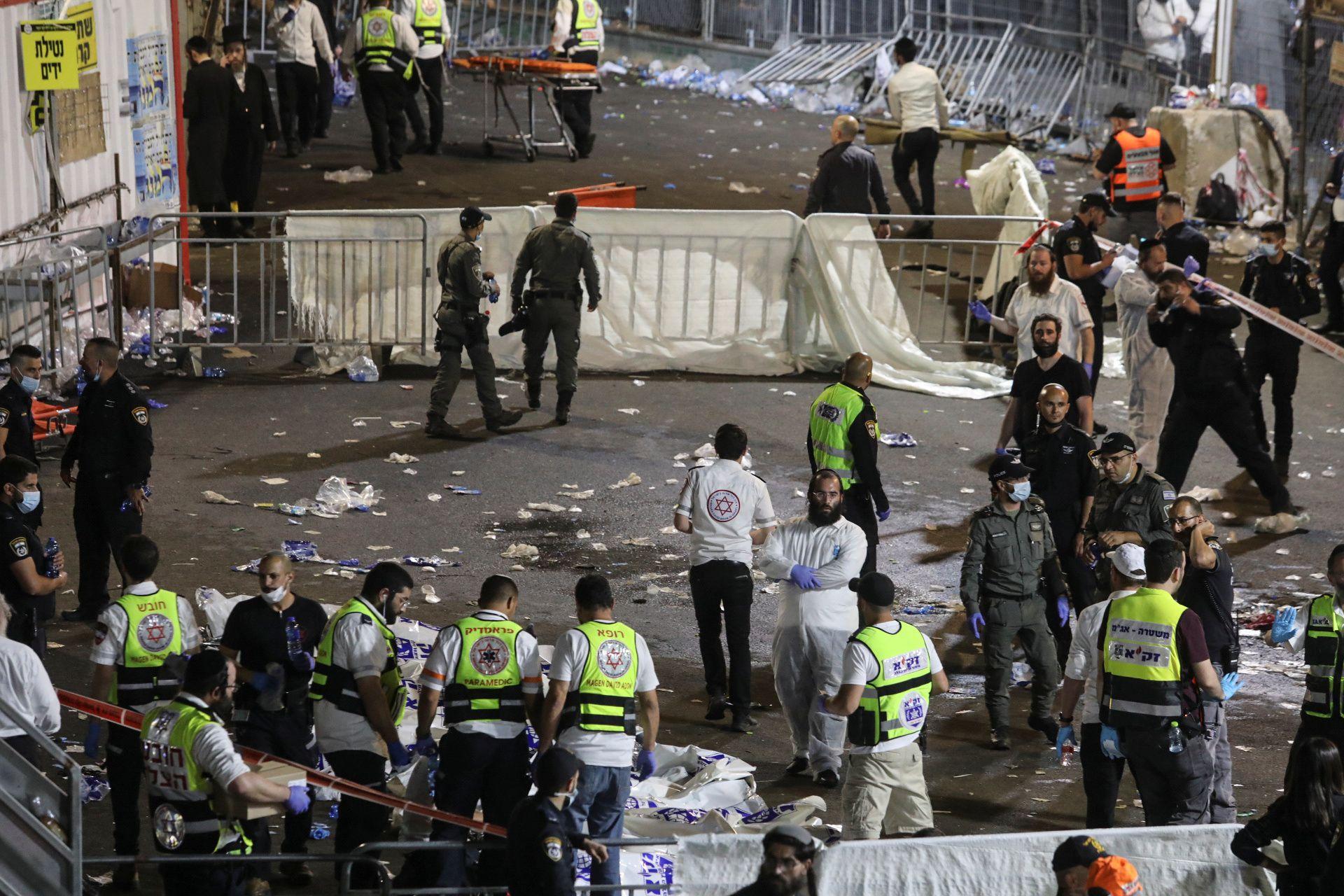 Dozens killed in stampede at sage's grave in Israel