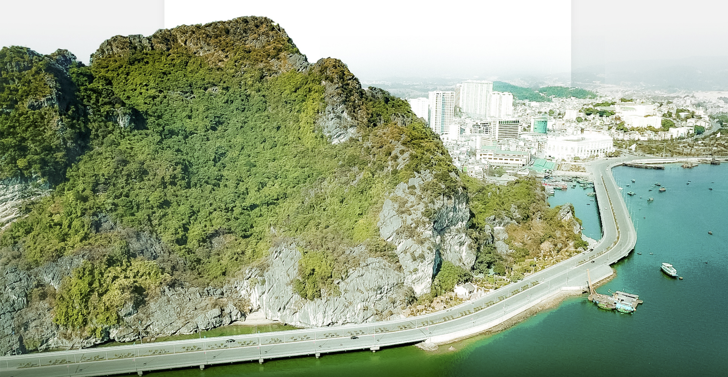 Revel in the view of world-renowned Ha Long Bay along new coastal drive in Vietnam