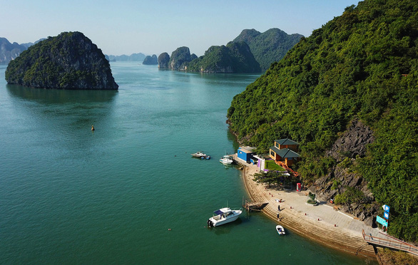 182 quarantined on board luxury cruise ship in Vietnam's Ha Long Bay over COVID-19 fear