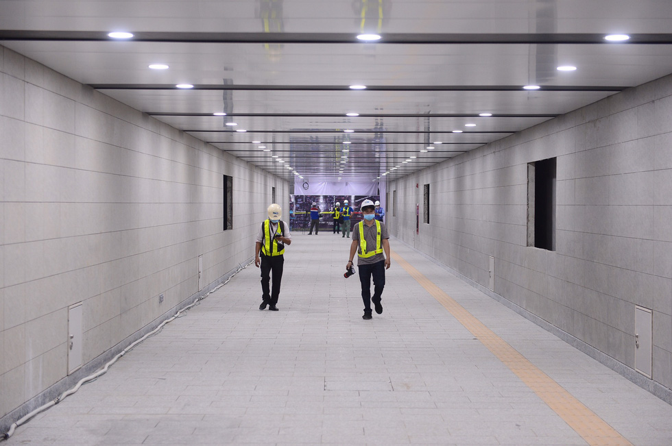 One more basement of Ho Chi Minh City metro station reaches early completion