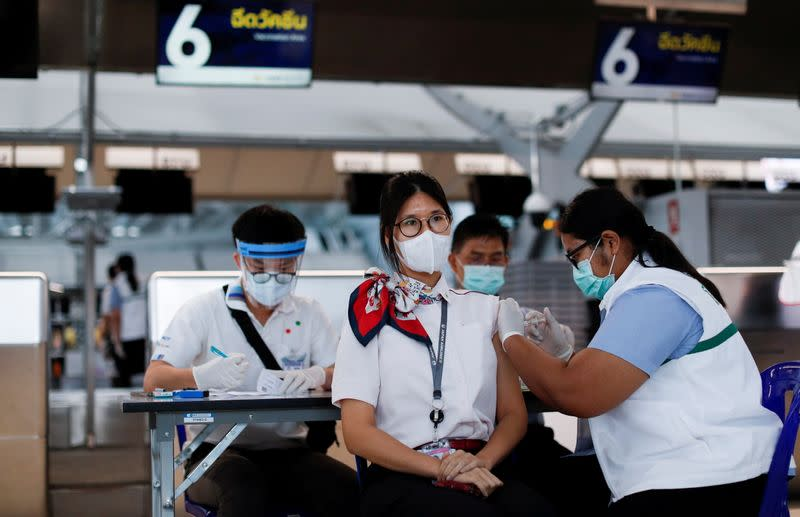 Thailand says foreigners to get COVID-19 vaccines amid access concern