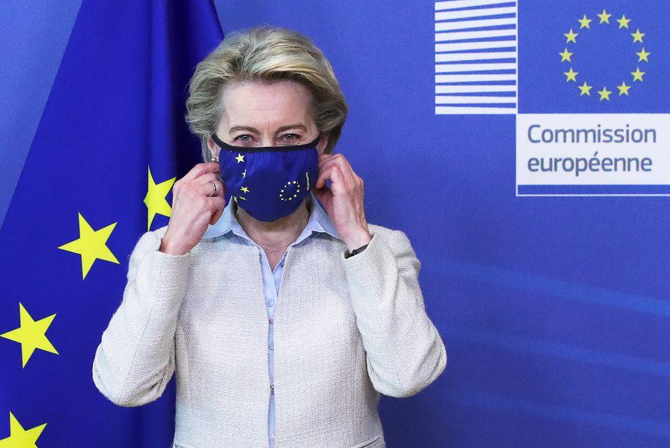 EU ready to discuss COVID vaccine patent waiver, says von der Leyen