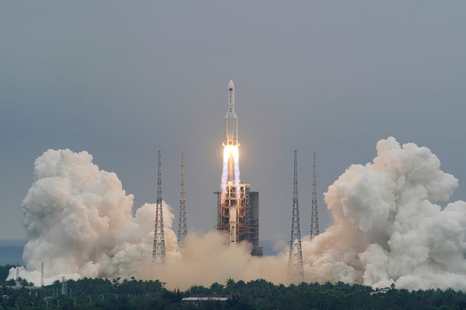 U.S. Space Command tracks Chinese rocket for uncontrolled re-entry from orbit