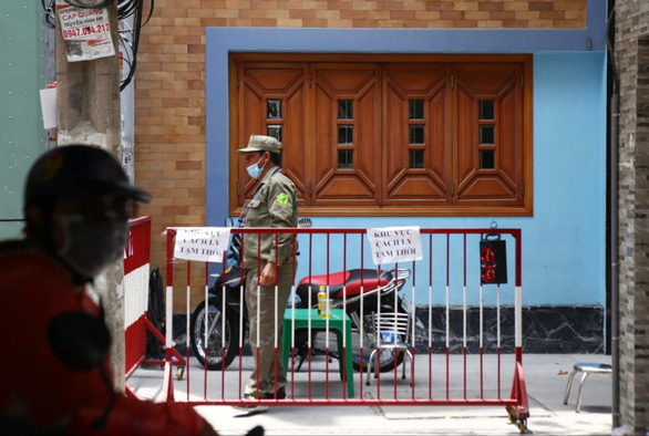 Ho Chi Minh City alley cordoned off over suspected COVID-19 case