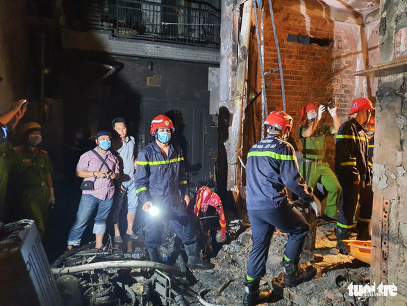 Eight people die in Ho Chi Minh City house fire