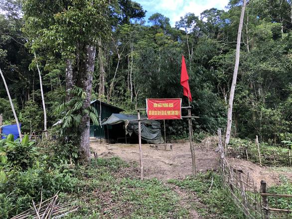A border post along the Vietnam-Laos border in A Xan Commune, Tay Giang District, Quang Nam Province, Vietnam. Photo: B.D. / Tuoi Tre