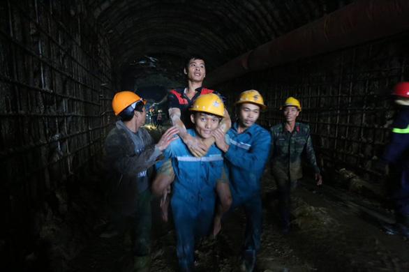 Vietnam mine emergency workers perform daring rescues deep underground, under pressure
