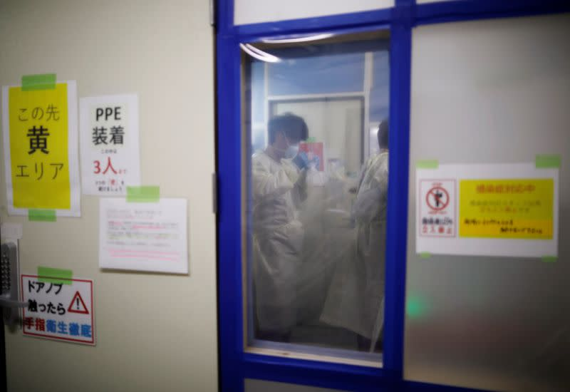 Japanese prefecture says deaths at home surge amid 4th COVID-19 wave