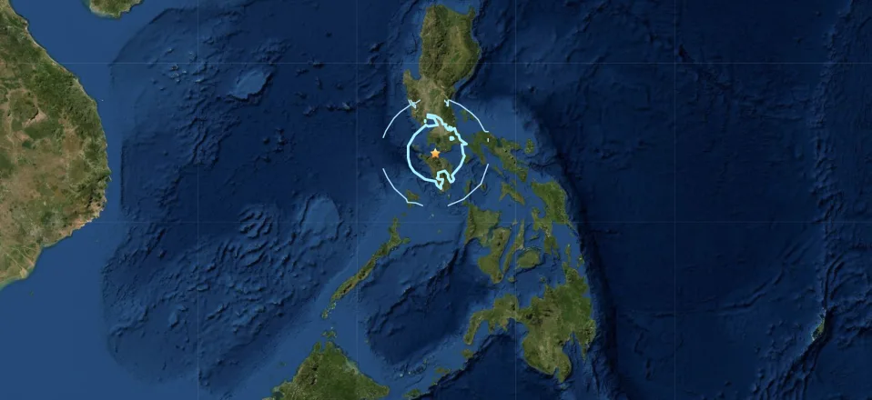 Magnitude 5.8 quake hits south of Philippine capital, no damage expected
