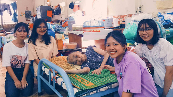 Ho Chi Minh City high school students implement initiative to get closer to elderly