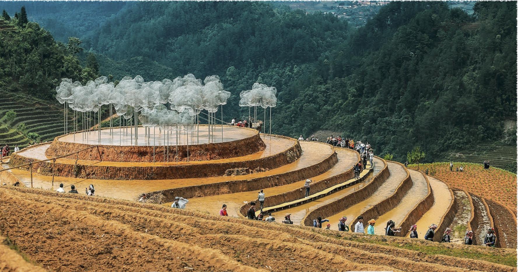 Mam Xoi Hill in Mu Cang Chai District, Yen Bai Province, Vietnam. Photo: Nam Tran / Tuoi Tre