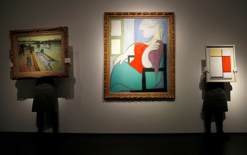 Picasso oil painting sells for over $100 million at New York auction