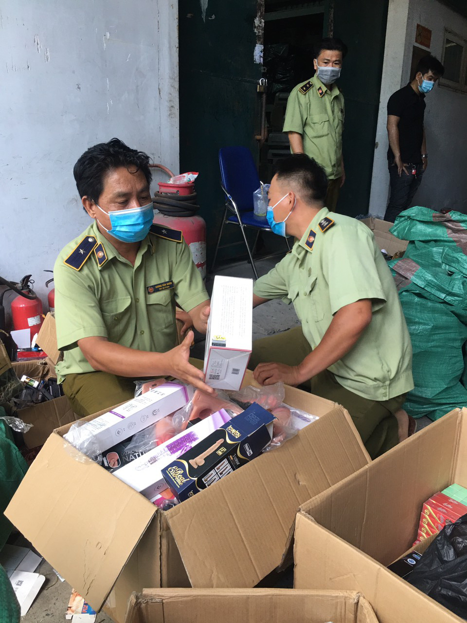 Sex toys of unknown origin found at Ho Chi Minh City warehouse