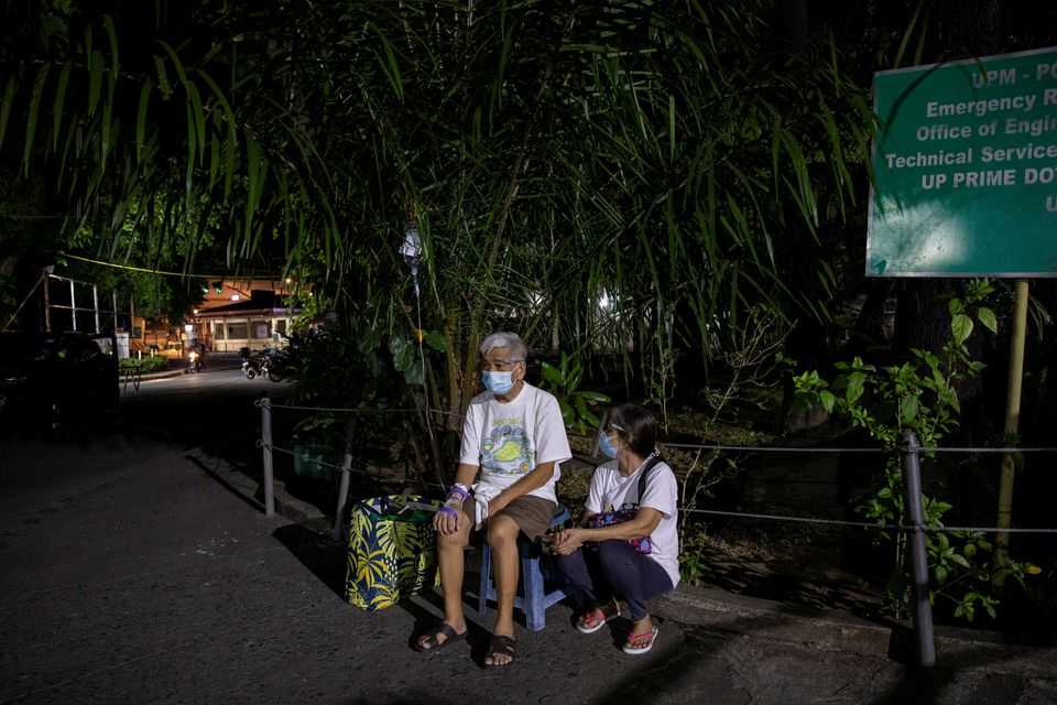 Philippines douses five-hour blaze in hospital treating COVID-19 patients