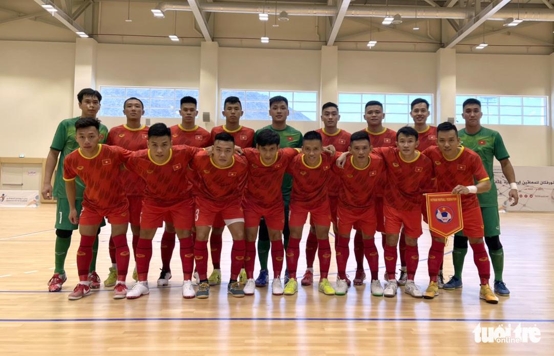 Vietnam defeat Iraq in preparation for FIFA Futsal World Cup play-off