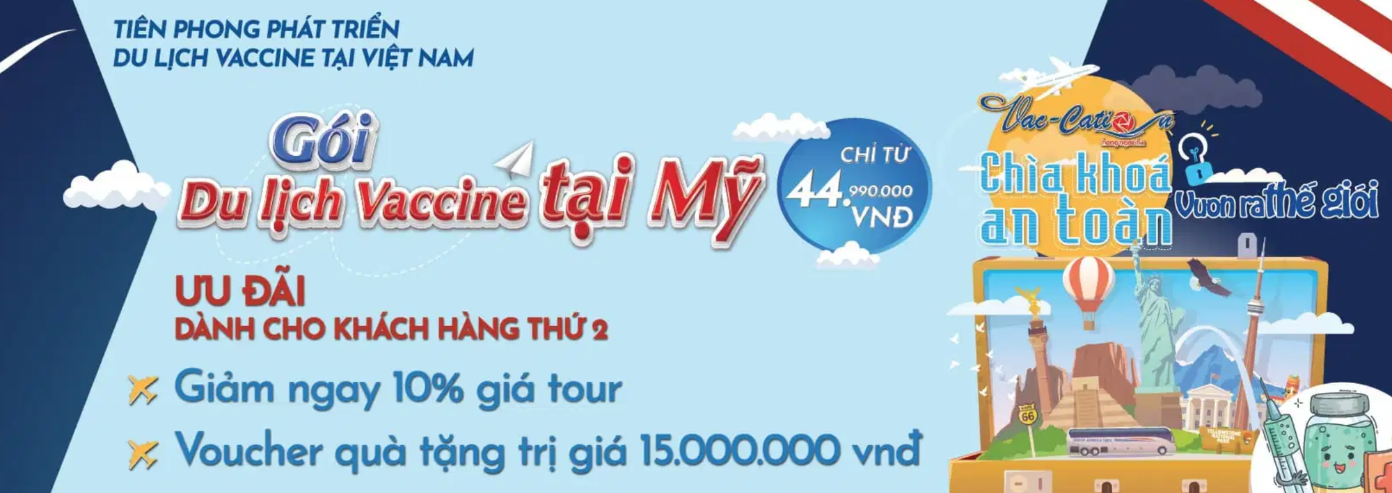 Vietnamese travel firm offers COVID-19 vaccination tours to US