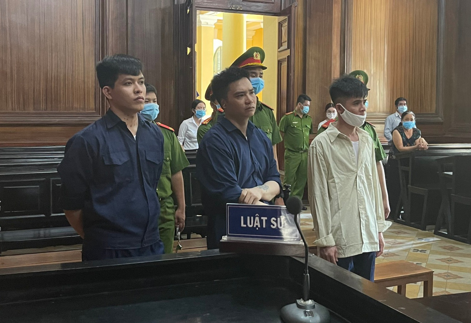 Ho Chi Minh City court sentences three to death for drug offenses