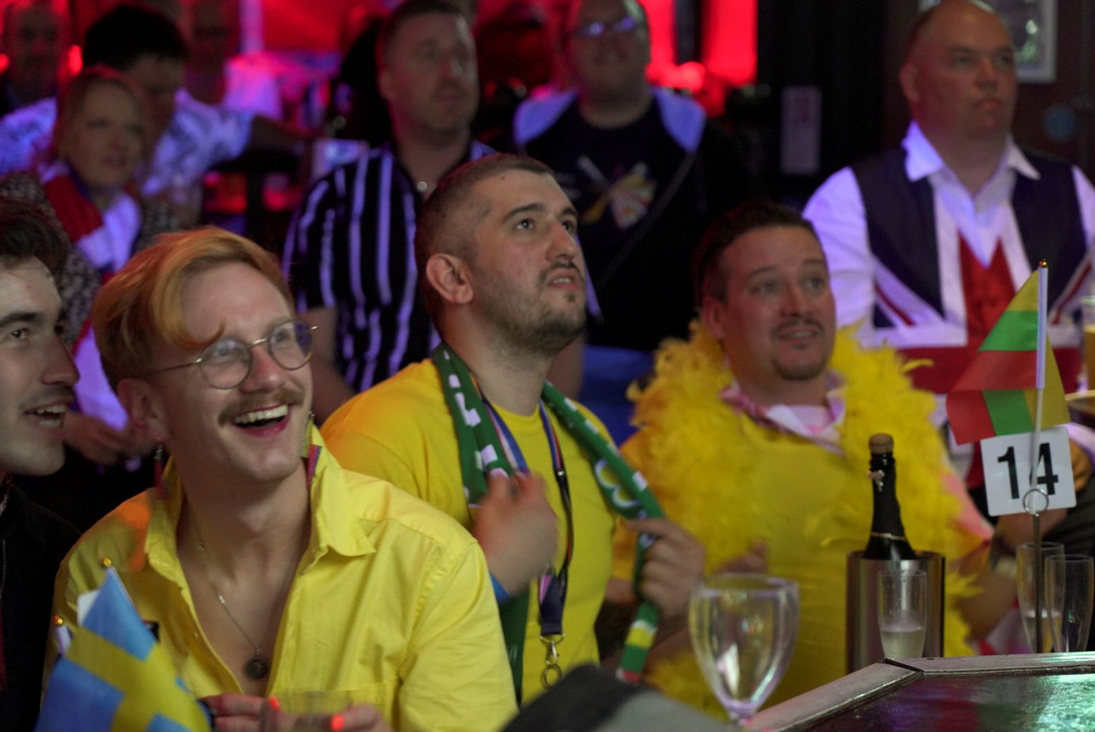 Eurovision fans in London celebrate the contest and seeing old friends again