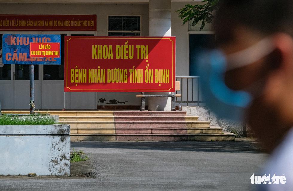 The COVID-19 treatment ward at Makeshift Hospital No.1, Bac Ninh Province, VIetnam, May 22, 2021.