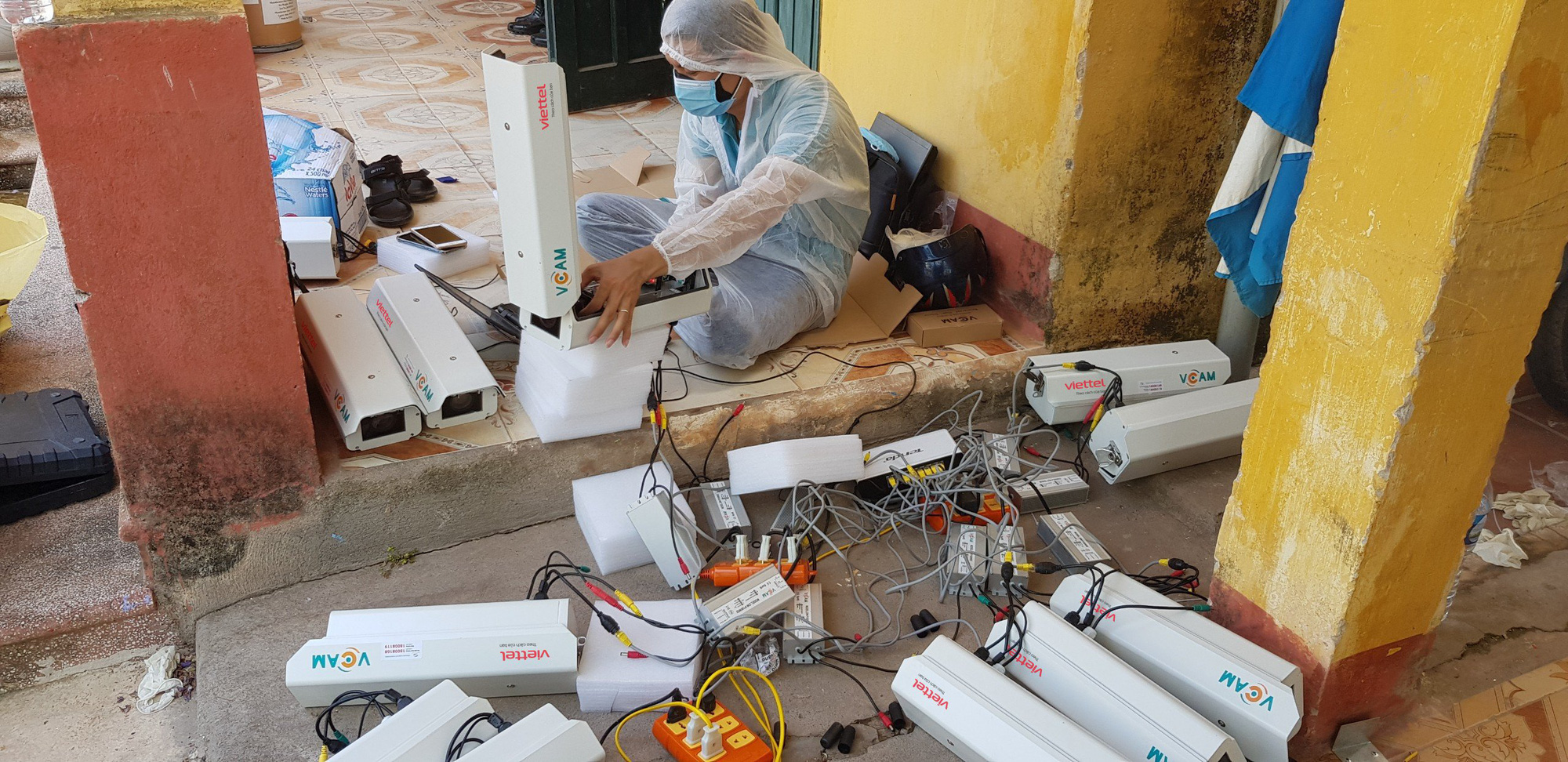 Vietnam installs 3,000 surveillance cameras in quarantine centers to quell coronavirus transmission