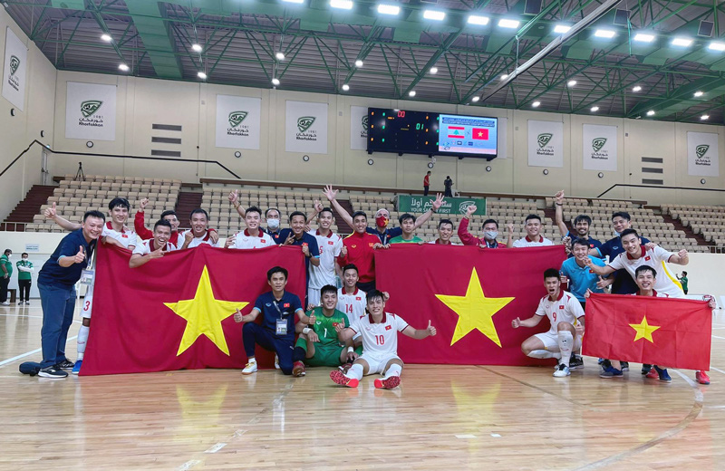 Vietnam grab ticket to FIFA Futsal World Cup finals after play-off draw against Lebanon
