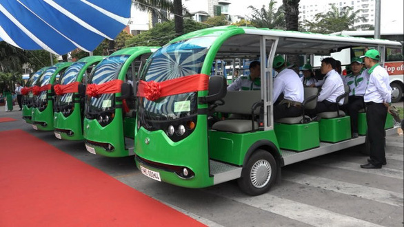 Ho Chi Minh City pilots electric buses for tourists in outlying Can Gio District