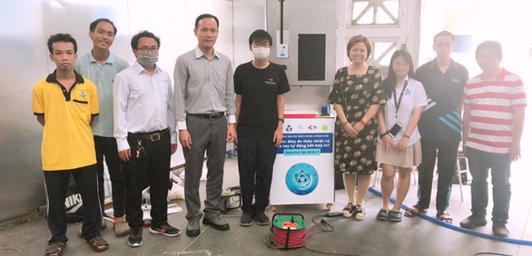College freshmen in Vietnam launch automated medical screening, reminder system to combat COVID-19