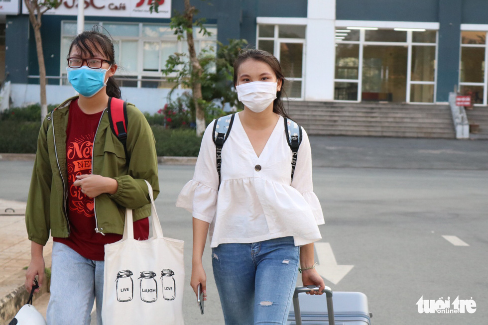 University students in Ho Chi Minh City spare dorms for COVID-19 quarantine