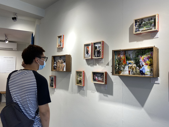 'Storybox' exhibits by Punk Dragon at the solo exhibition 'The time has come to rekindle the stars' in Matca Space for Photography, Hanoi, Vietnam.