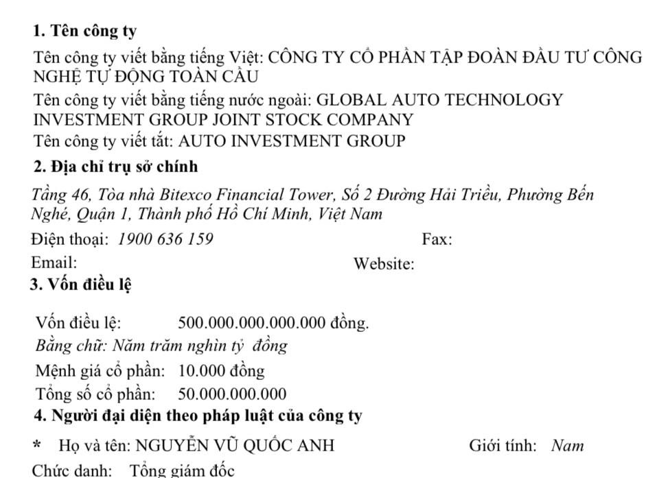 Vietnam police asked to monitor person who registered firms with almost $23bn in charter capital