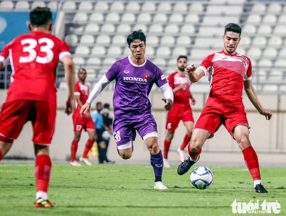 Vietnam draw against Jordan in World Cup qualifier preparation match