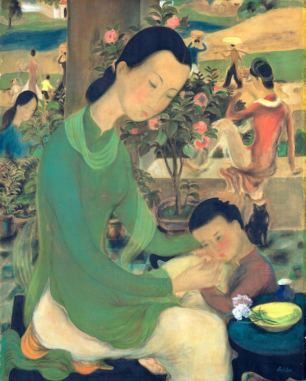 'Family Life' (1939) by Le Pho